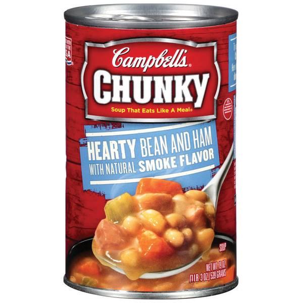 Chunky Hearty Bean & Ham Soup
