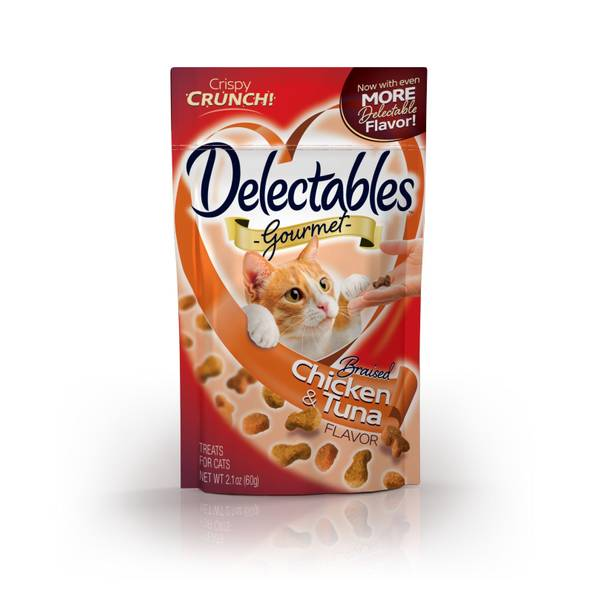 Delectables Braised Chicken & Tuna Cat Treats