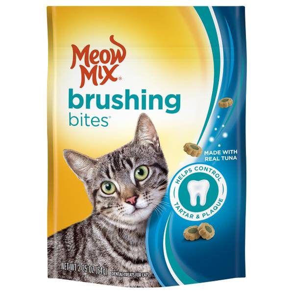Brushing Bites Cat Dental Treats