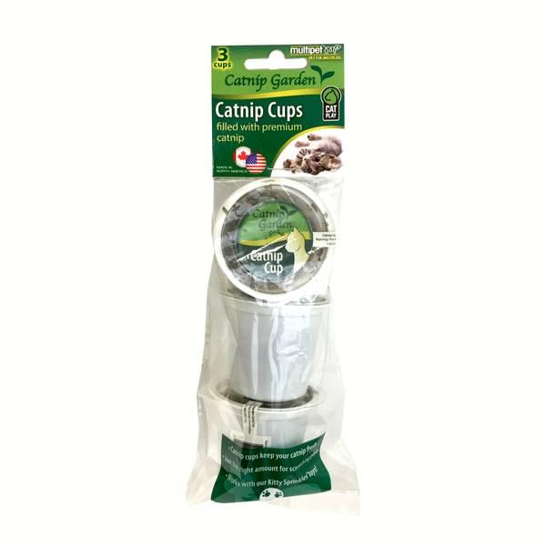 Catnip Garden Cups - 3 Pack