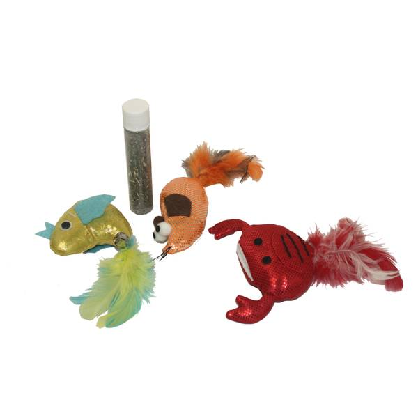 Refillable Cat Toy Assortment