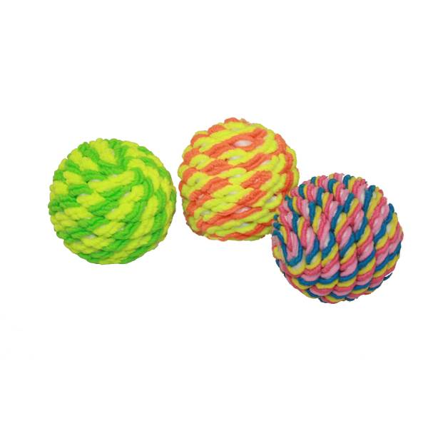 Rope Cat Ball Toy Assortment