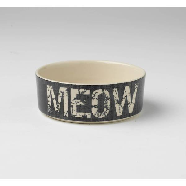 2-Cup Vintage Meow Bowl