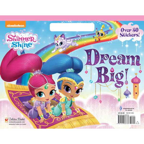 Shimmer & Shine Dream Big! Coloring Book