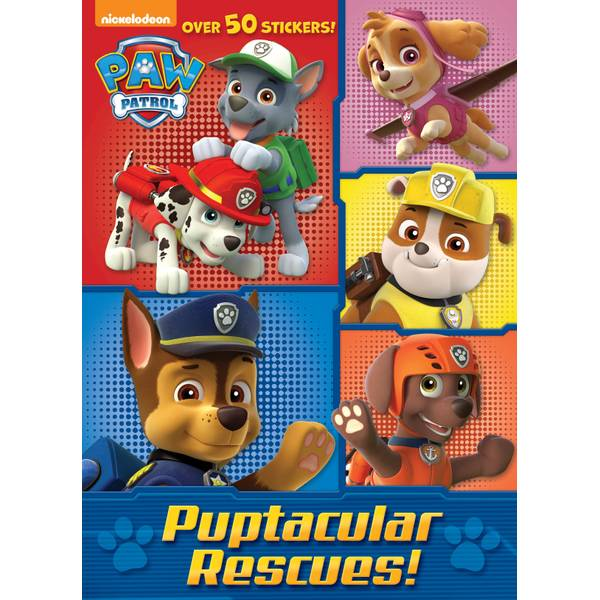 Paw Patrol Puptacular Rescues! Coloring Book