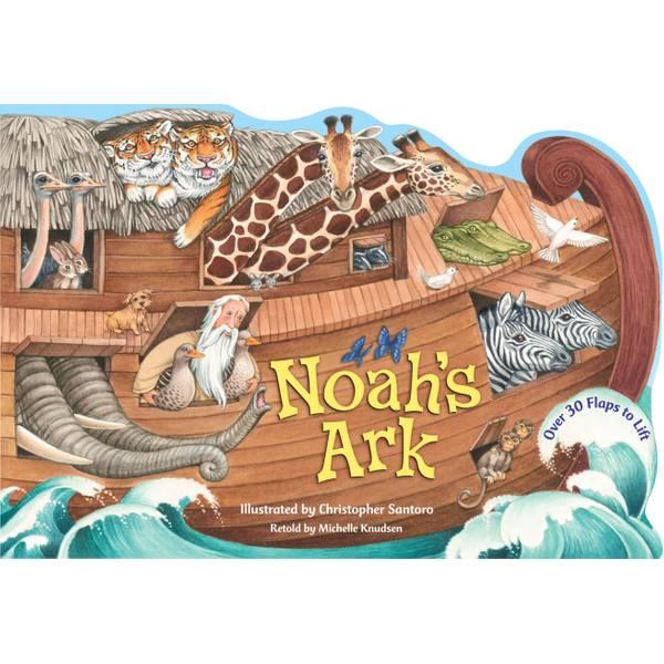 Noah's Ark Lift-the-Flap Board Book