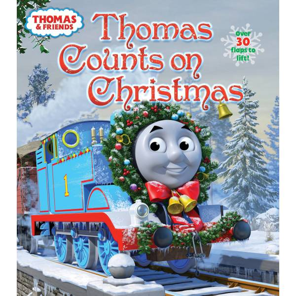 Thomas Counts on Christmas Lift-the-Flap Board Book