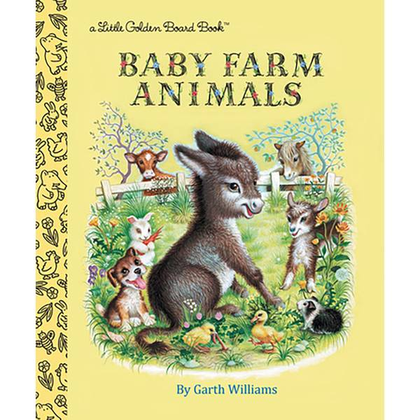 Baby Farm Animals Board Book
