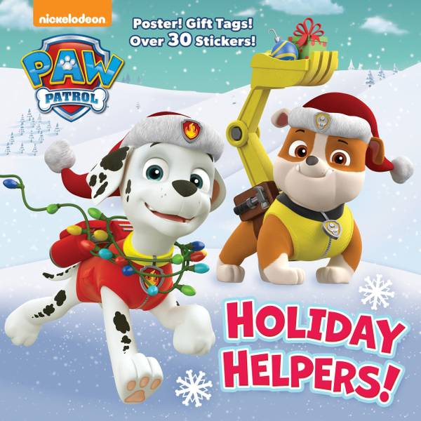 PAW Patrol Holiday Helpers Picture Book