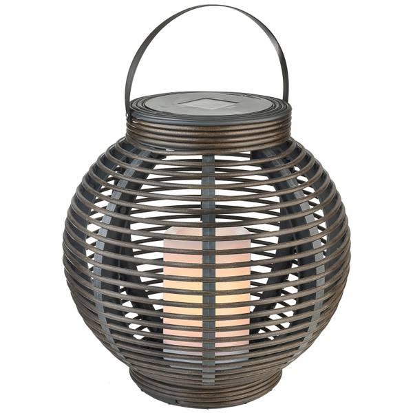 Paradise Solar Led Rattan Basket Light