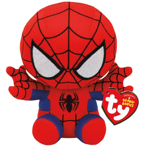 "Marvel 8"" Spider-Man Beanie Baby"