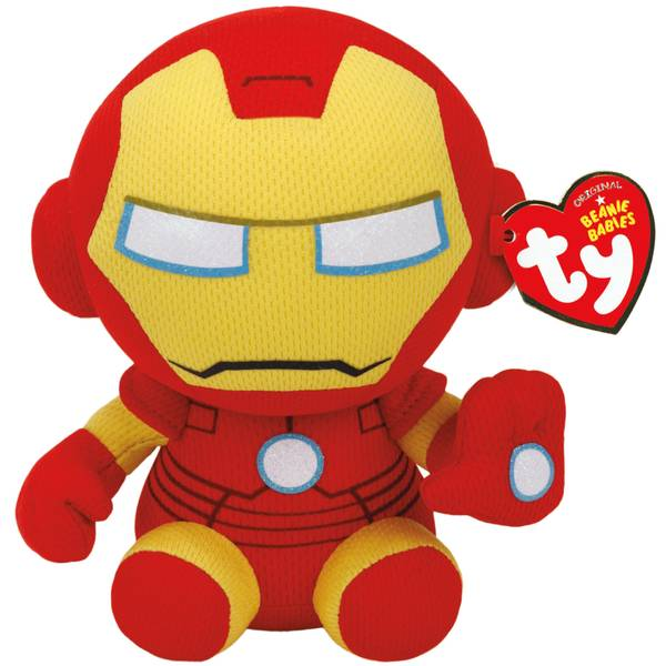 "Marvel 8"" Iron Man Beanie Baby"