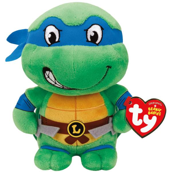 "Teenage Mutant Ninja Turtles 8"" Leonardo Beanie Baby"