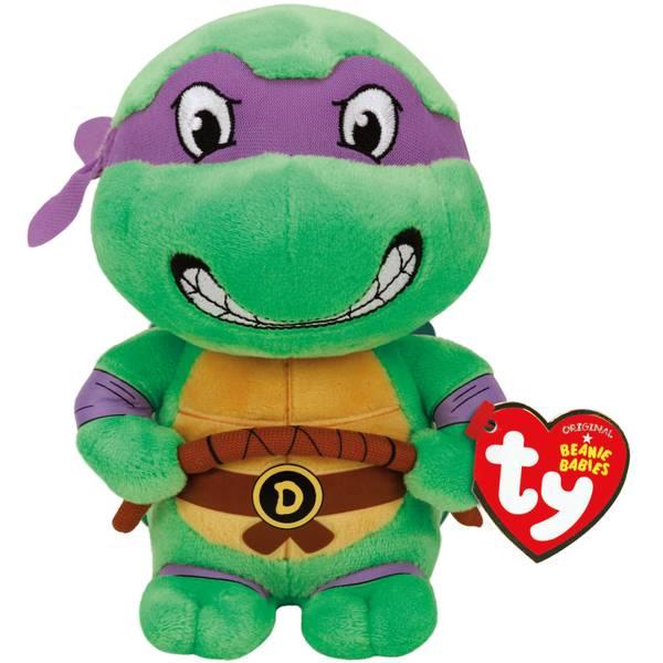 """Teenage Mutant Ninja Turtles 8"""" Donatello Beanie Baby"""