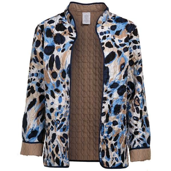 Alfred Dunner Animal Quilt Jacket