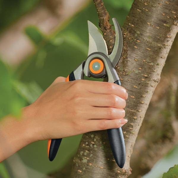Forged Bypass Pruner With Replaceable Blade