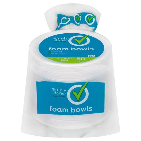 Foam Bowls