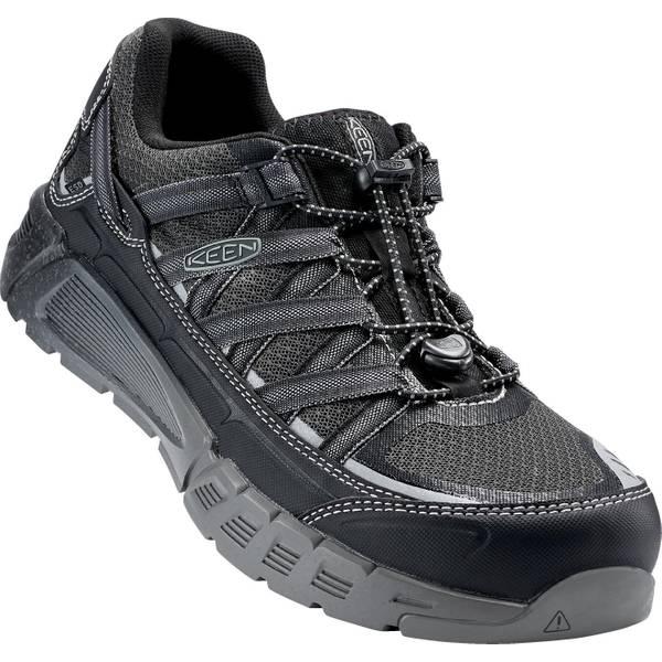 Men's Black Asheville Allow Toe Shoes