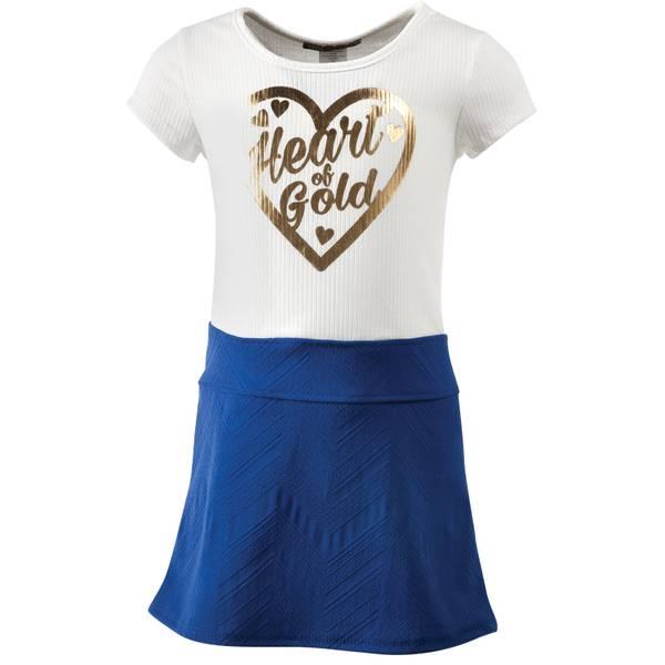 Little Girls' Heart Of Gold Dress