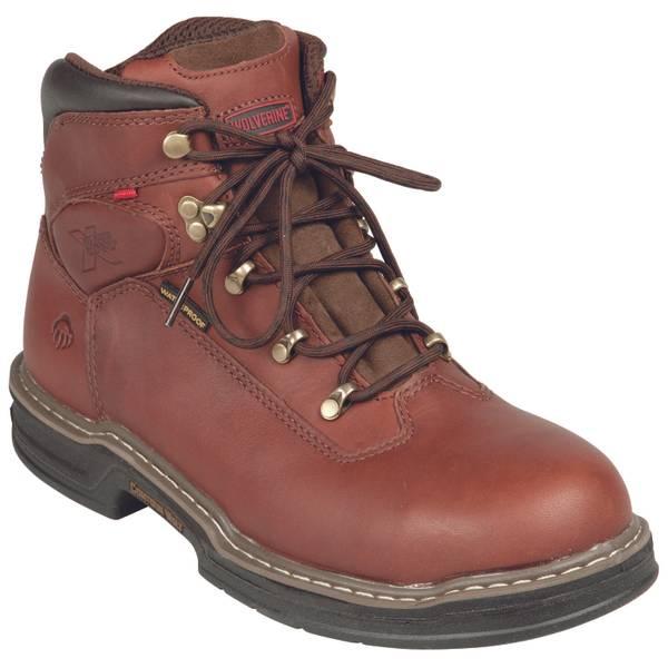 """Men's 6"""" Buccaneer Waterproof Steel Toe Work Boot"""
