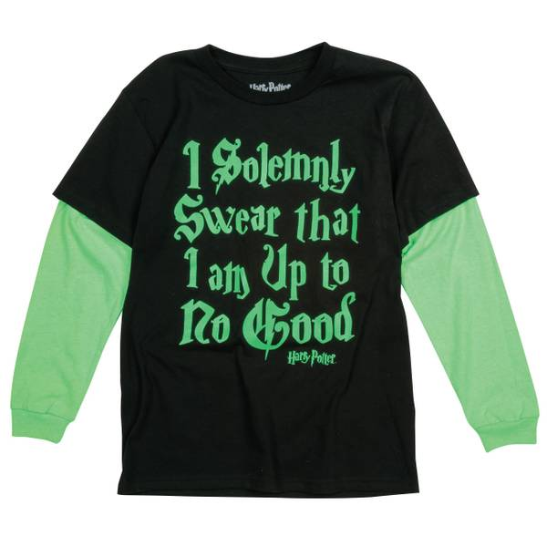 Big Boys' Long Sleeve Harry Potter Tee