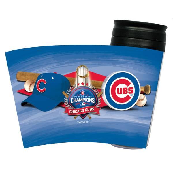 Cubs World Series Snap Fit Tumbler