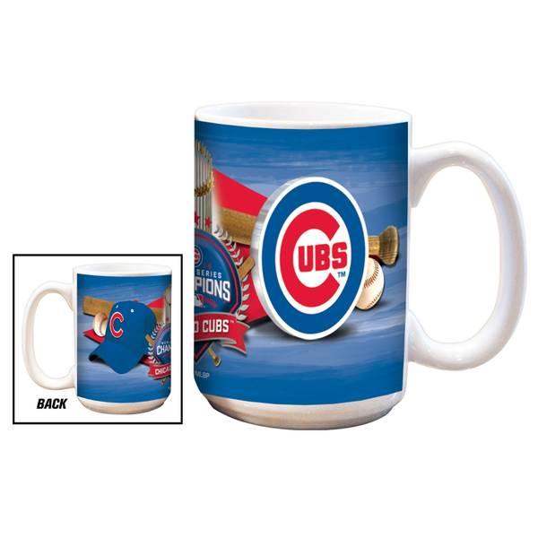 Chicago Cubs 2016 World Series Champions Mug