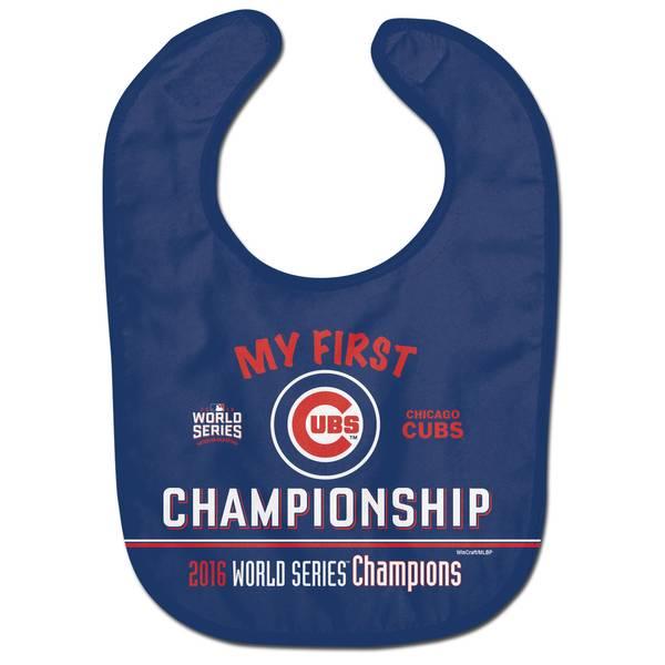 Chicago Cubs World Series Baby Bib