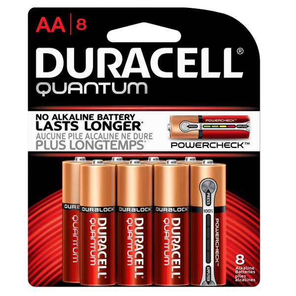 Quantum AA Batteries - 8 Pack