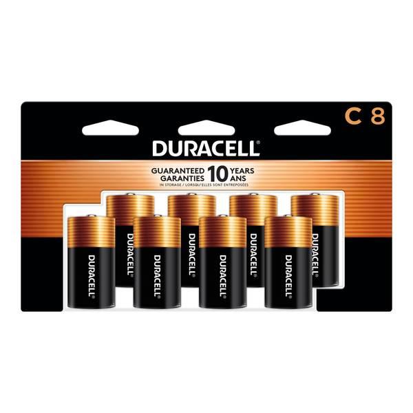 Coppertop C Household Batteries - 8 Pack