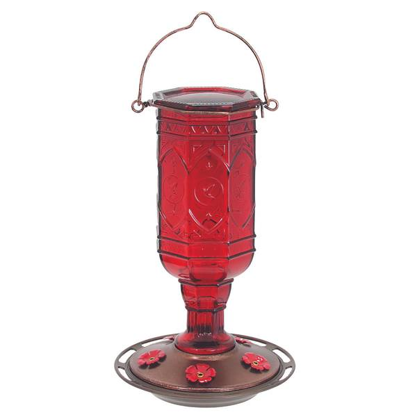 Jewel Red Hummingbird Feeder