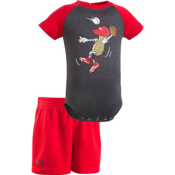 Baby Boys' 2-piece Bodysuit & Shorts Set
