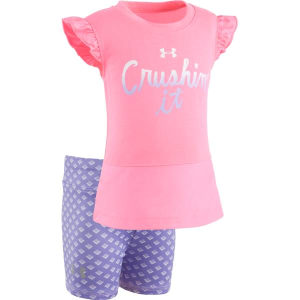 Baby Girls' 2-piece Tee & Shorts Set