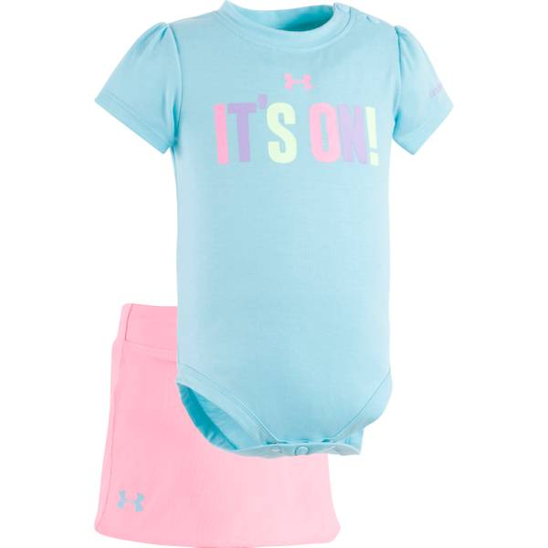 Baby Girls' Bodysuit & Skirt Set