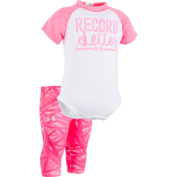 Baby Girls' Bodysuit & Capri Leggings Set