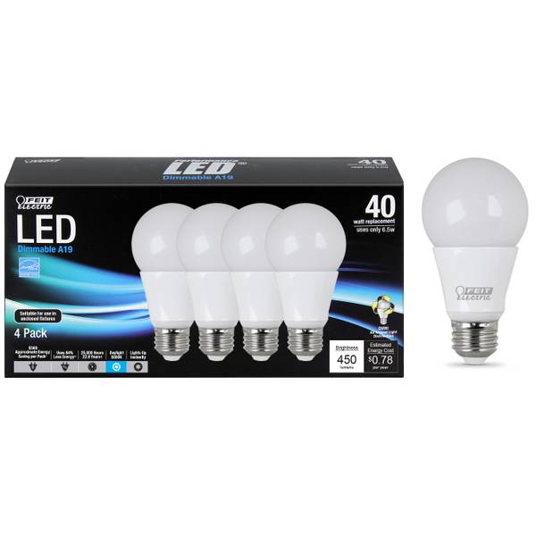 feit electric dimmable led light bulb. Black Bedroom Furniture Sets. Home Design Ideas