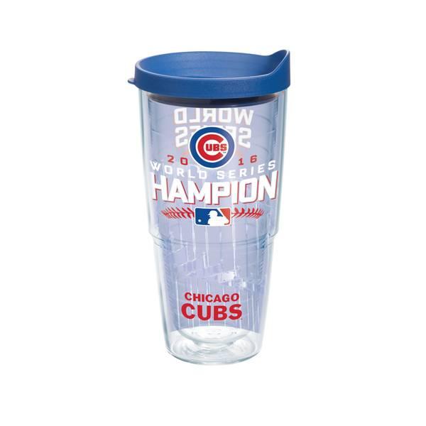24 oz Chicago Cubs World Series Tumbler
