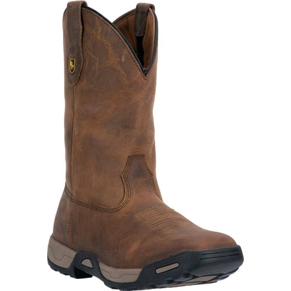 Men's Hudson Waterproof Square Toe Western Work Boot