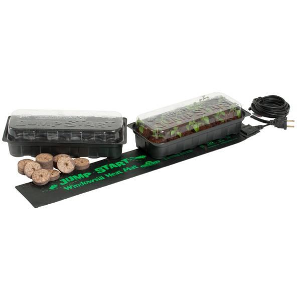 Jump Start Windowsill Seed Starting Heat Mat & Tray Kit