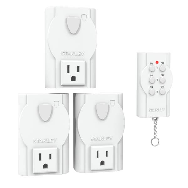 Wireless Remote System - 3 Pack