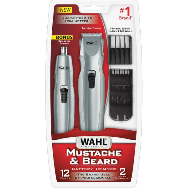 wahl mustache and beard trimmer. Black Bedroom Furniture Sets. Home Design Ideas