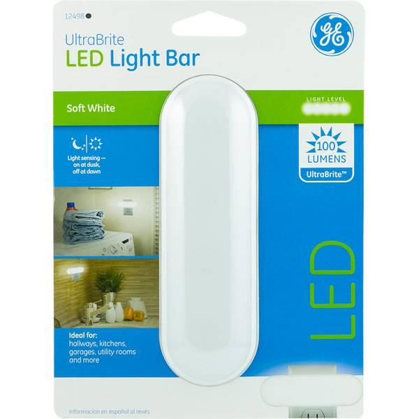 ge ultrabright light sensing led light bar. Black Bedroom Furniture Sets. Home Design Ideas