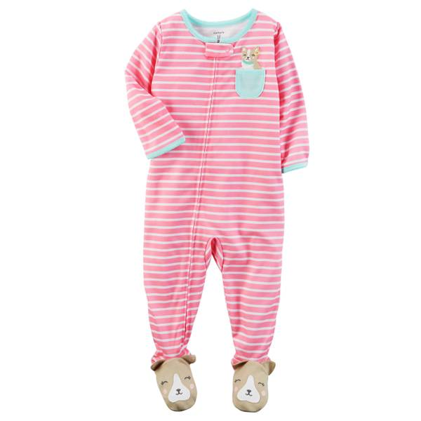 Baby Girls' 1-Piece Pajamas