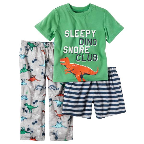 Baby Boys' 3-piece Pajamas