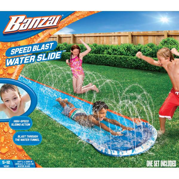 16' Speed Blast Water Slide