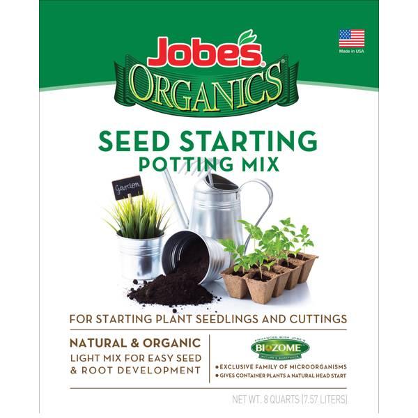 8qt Organics Seed Starting Soil