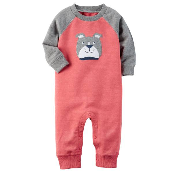 Baby Boys' French Terry Jumpsuit
