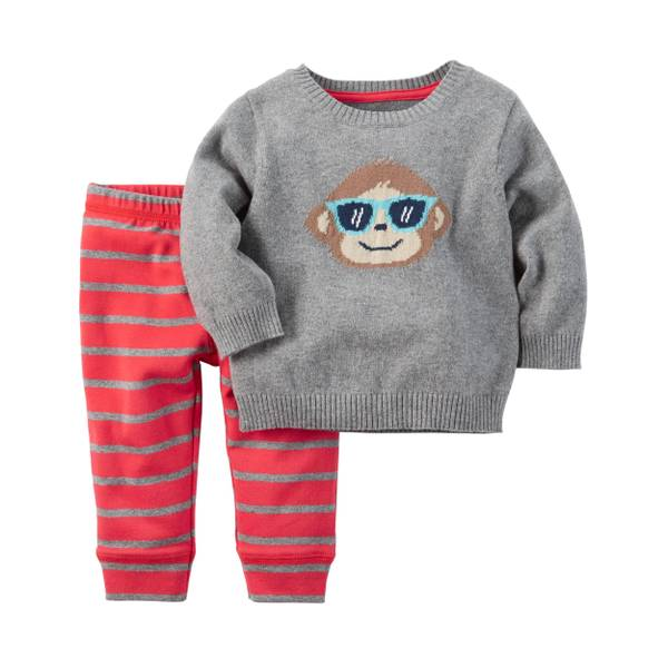 Baby Boys' 2-piece Sweater & Pant Set