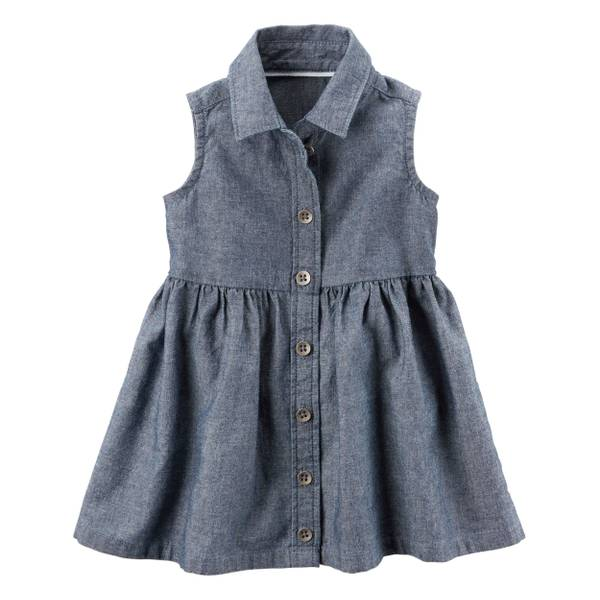 Baby Girls' Chambray Dress