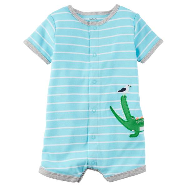 Baby Boys' Snap-Up Romper